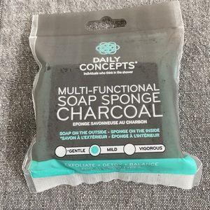 Charcoal Soap Sponge
